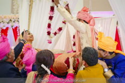 Gujrati Wedding Garland Ceremony